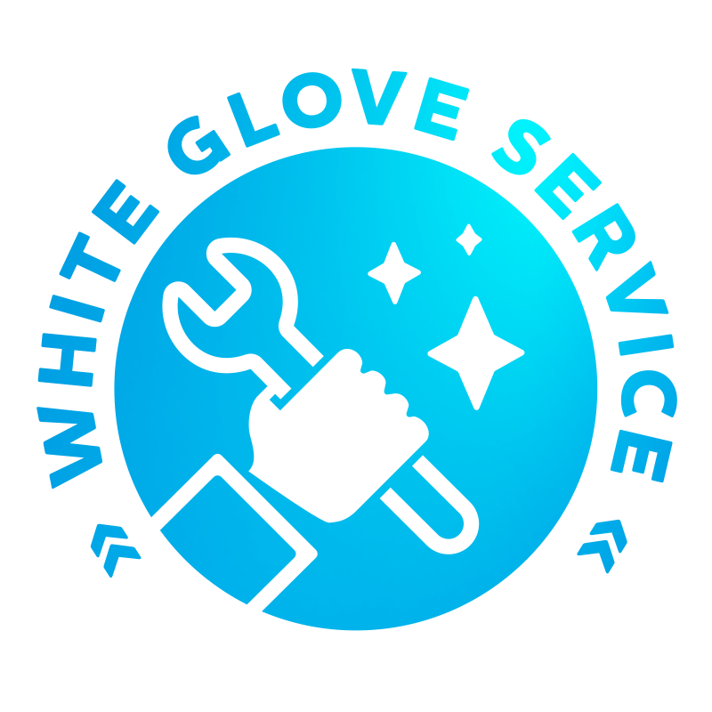 White Glove Service with Pick Up and Delivery
